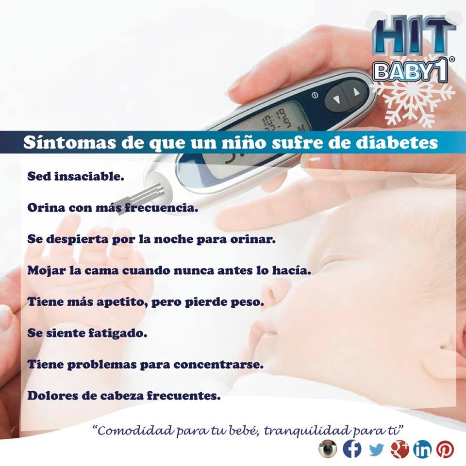 síntomas recurrentes de diabetes