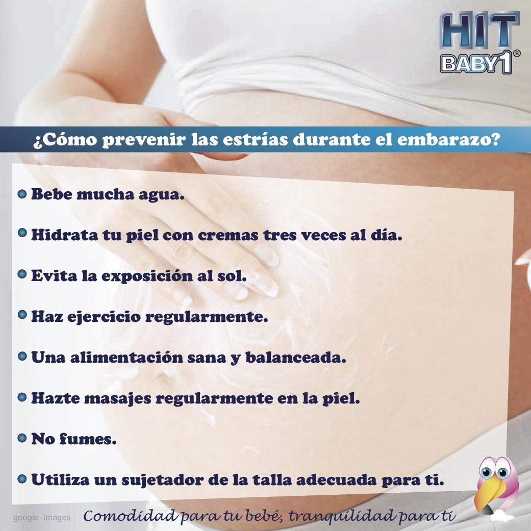 Que hacer para evitar las estrias durante el embarazo