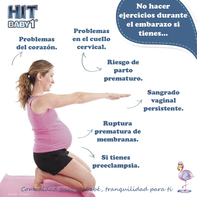Que ejercicios no se pueden hacer embarazada
